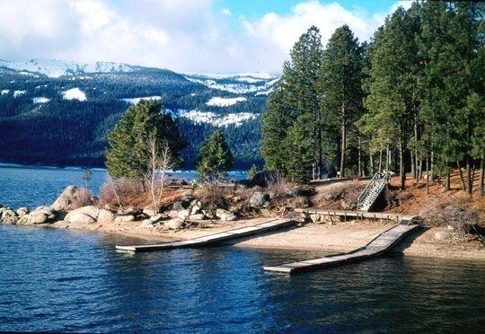 Lake cascade state park huckleberry campground cascade for Cascade lake idaho fishing