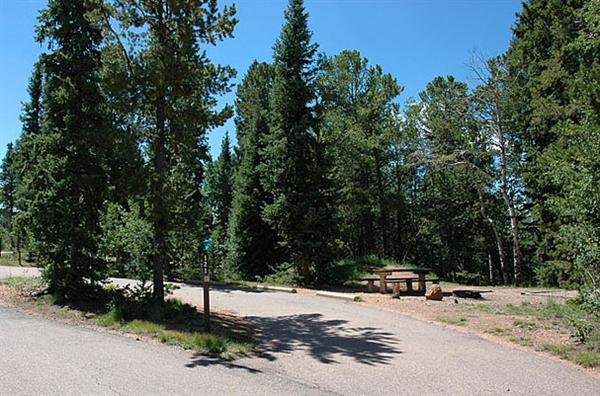 Mueller State Park Divide Co Gps Campsites Rates