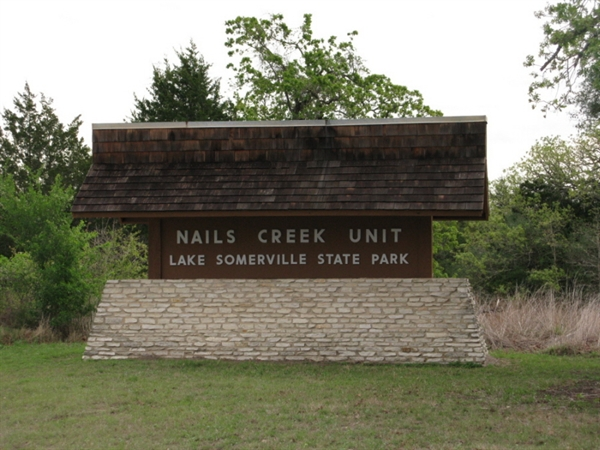 Lake Somerville State Park And Trailway Nails Creek Unit