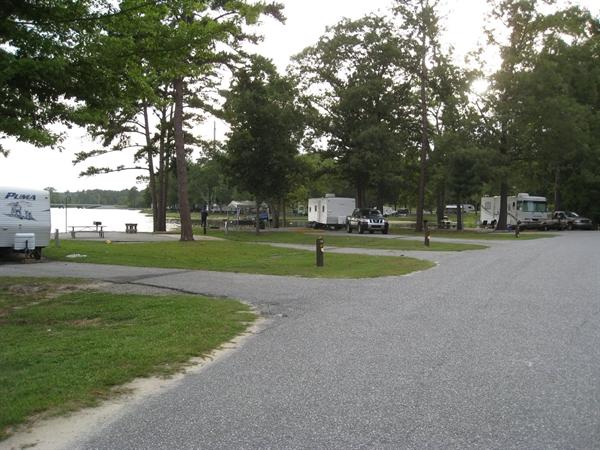 COE Walter F George Lake White Oak Creek Campground ...