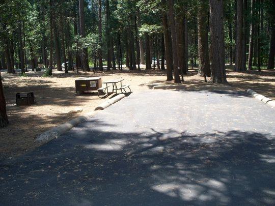 Yosemite National Park Lower Pines Campground Yosemite