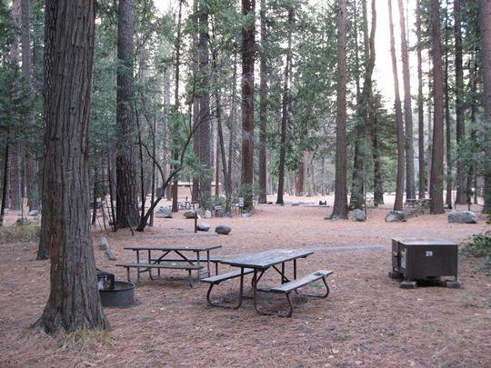 Yosemite National Park Lower Pines Campground, Yosemite ...