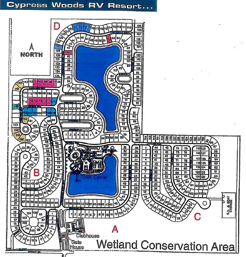 Cypress Woods Rv Resort Fort Myers Fl Gps Campsites