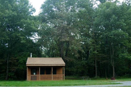 Voorhees State Park, Glen Gardner, NJ - GPS, Campsites