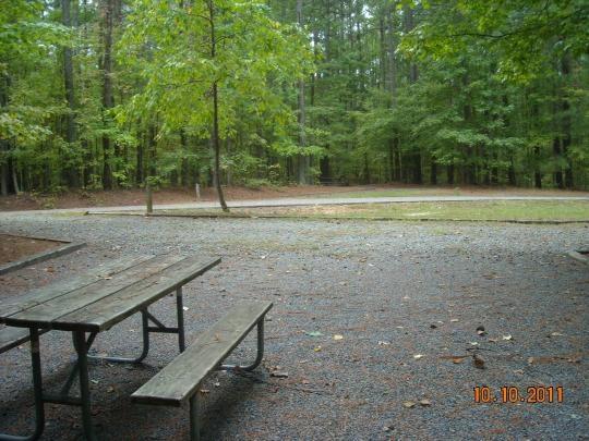 Jordan Lake State Recreation Area Crosswinds Campground ...
