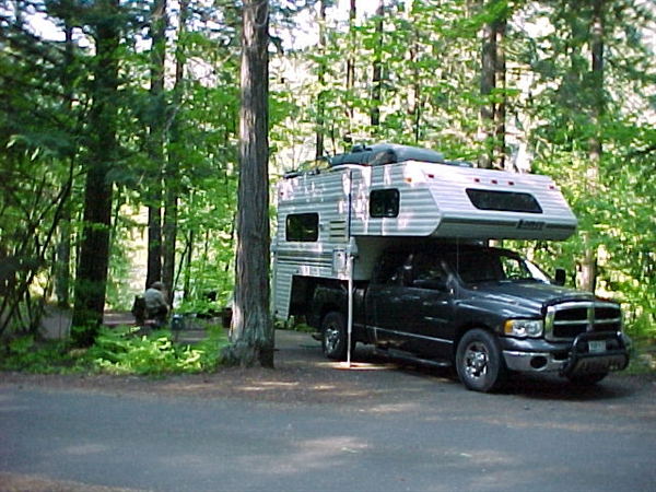 Willamette National Forest Hoover Campground Detroit OR