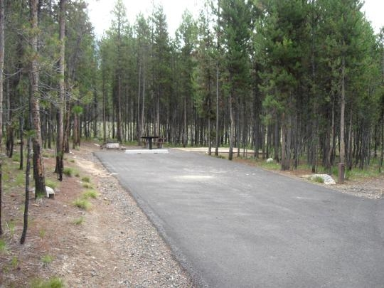 Boise National Forest Shoreline Campground, Cascade, ID