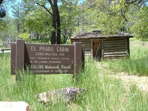 Cleveland National Forest El Prado Group Campground, Pine ...