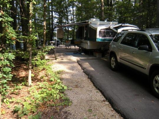 Daniel Boone National Forest Twin Knobs Campground Salt
