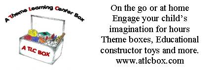 A Theme Learning Center Box. Engage your child's imagination for hours.