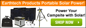 Shop Earthtech Products for the Latest in Camping Solar Gadgets