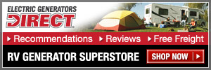 Shop RV Generators @ Electric Generators Direct