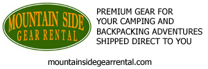 Mountain Side Gear Rental - Premium gear for your camping and backpacking adventures shipped direct to you