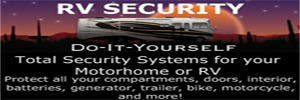 Total Security Systems for your Motorhome or RV