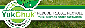 Reduce, Reuse, Recycle - YukChuk Food Waste Containers