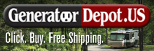 Click. Buy. Free Shipping. Power your RV with a generator from GeneratorDepot.US
