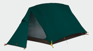 Dark green 4 season tent