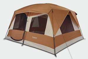 Brown Cabin Tent