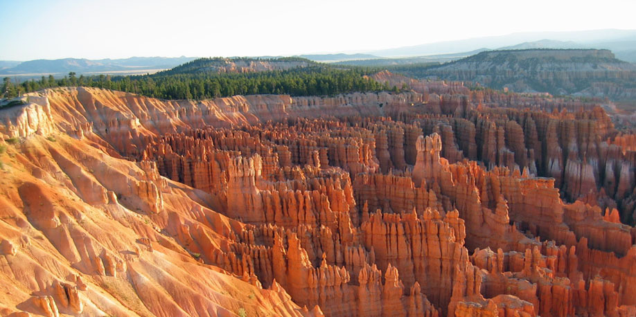 View overlooking Bryce Point, Bryce Canyon National Park
