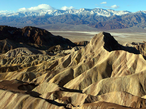 Badlands from Zabriskie Point, Death Valley National Park