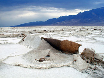 Salt flats of Badwater Basin, Death Valley National Park
