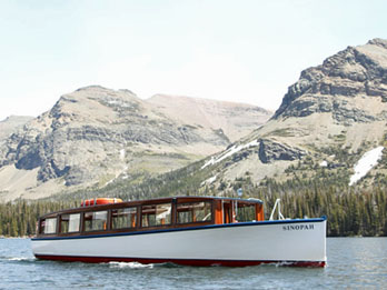 Two Medicine Lake Boat Tour, Glacier National Park