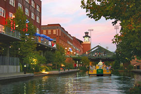 Water Taxi on Bricktown canal