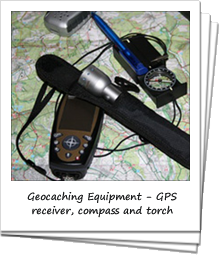 GPS Device and Compass on a Map