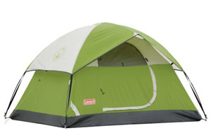 Green SunDome tent