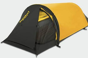 Yellow and Black Solitare Hoop Tent