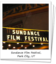 Egyptian Theater that hosts the Sundance Film Festival