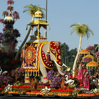 Bollywood float, Tournament of Roses Parade