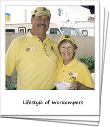 A workamper couple