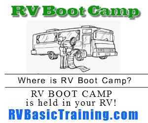RV Boot Camp - Learn what every RV driver should know