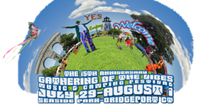 Festival logo for Gathering of the Vibes