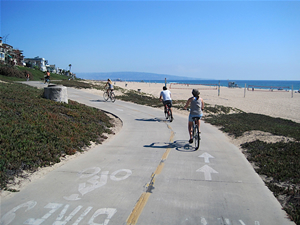 The Strand Bike Path