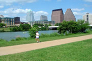 The Trail at Lady Bird Lake