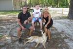 Millward Family, Bass Lake Campground, Dillon, South Carolina