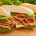Healthy fast food sandwiches