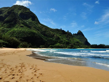 Ha'ena Beach, Hawaii