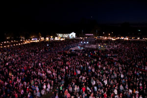 Oregon Jamboree Crowd