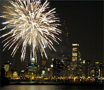 4th of July Fireworks over Chicago