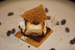 Oatmeal raisin smore