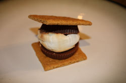 Reeses peanut butter smore