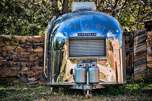 A shiny Airstream