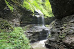 Rainbow waterfall, Watkins Glen State Park