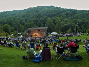 Concert at Blue Ridge Music Center