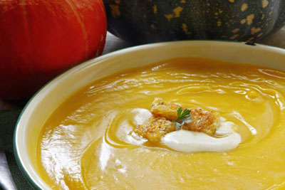 Apple and Pumpkin Soup