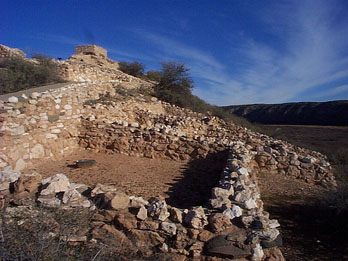 Sinagua Pueblo at Tuzigoot National Monument, AZ