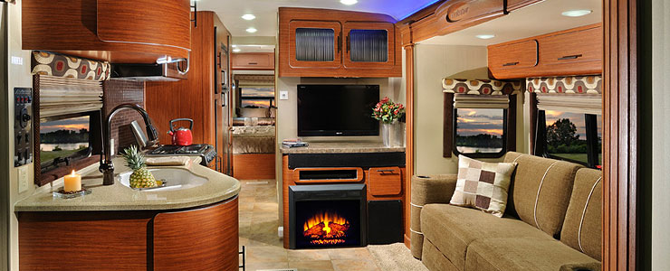 The New Luxury Aviator Travel Trailer by Forest River ...